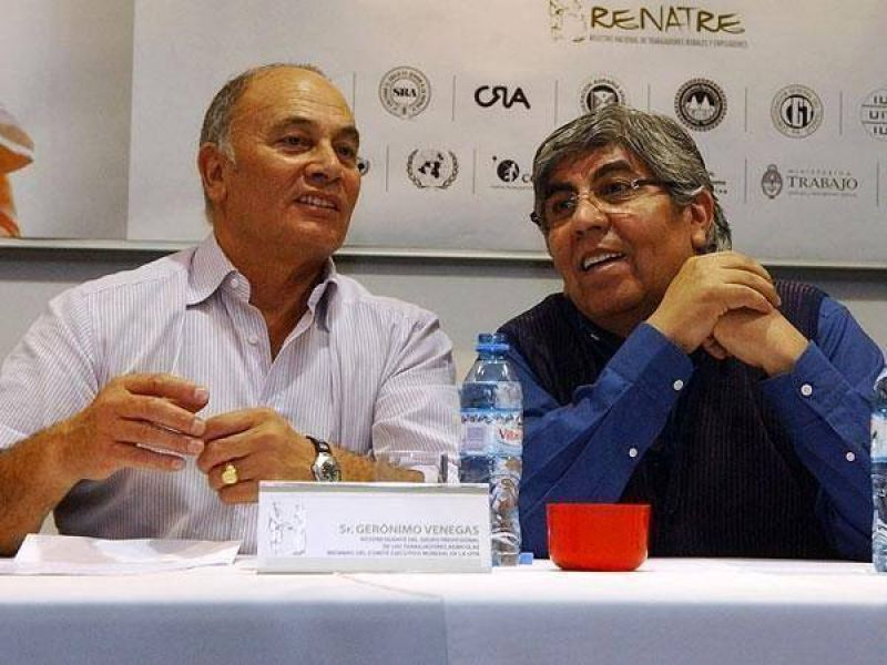 Moyano se reúne con dirigentes de las 62 organizaciones gremiales