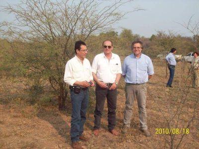 En el CEDEVA Yema se realizan las jornadas sobre producción de algarrobo