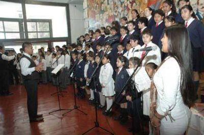 Presentaron grabaci�n del Himno Al Exodo Juje�o