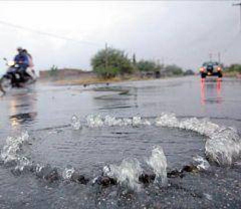 La lluvia trajo más problemas