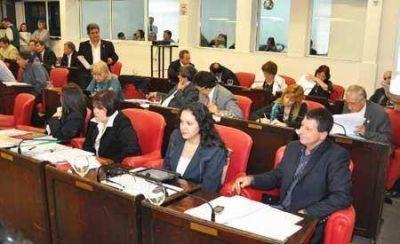 Diputados discuti� sobre el incidente entre Leiva y Corregido