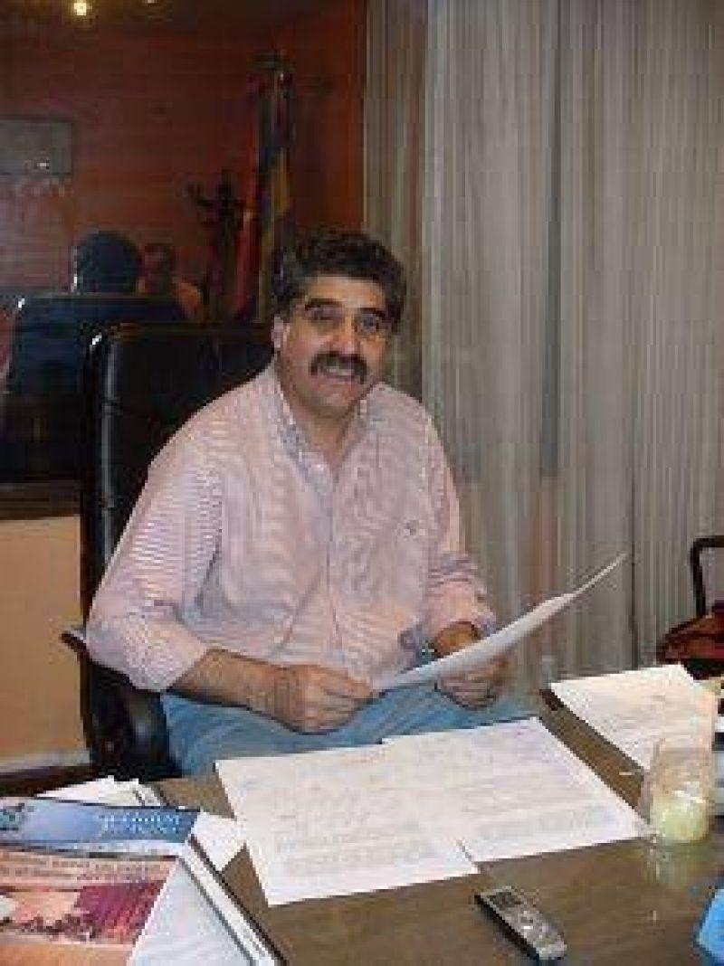 """Adrián """"Milín"""" Fernández apuesta al consenso con diferentes sectores internos."""