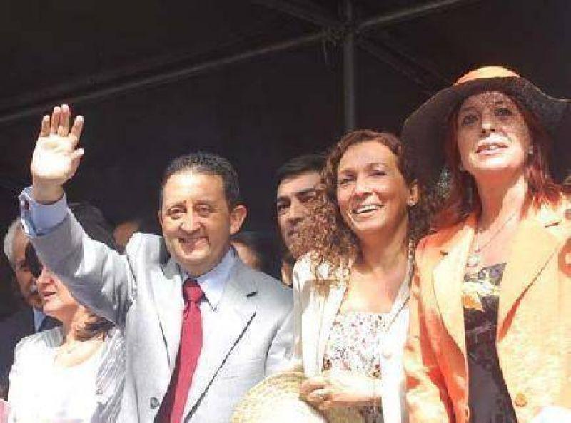 Carrusel: Jaque, feliz por la presencia de la Presidenta