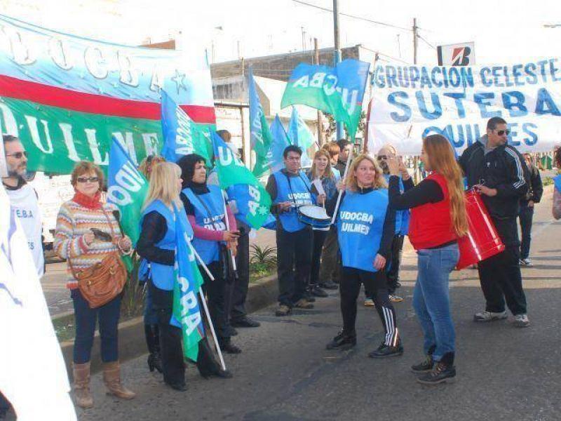 Marcha de gremios estatales