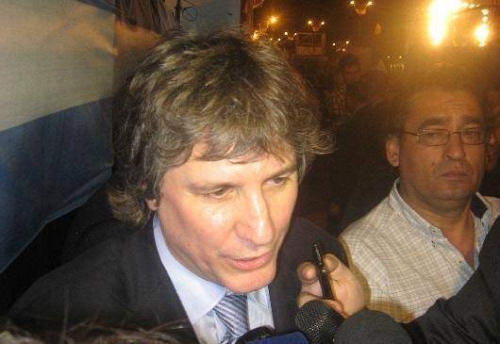 """Boudou: """"estoy muy feliz de estar en Jujuy"""""""