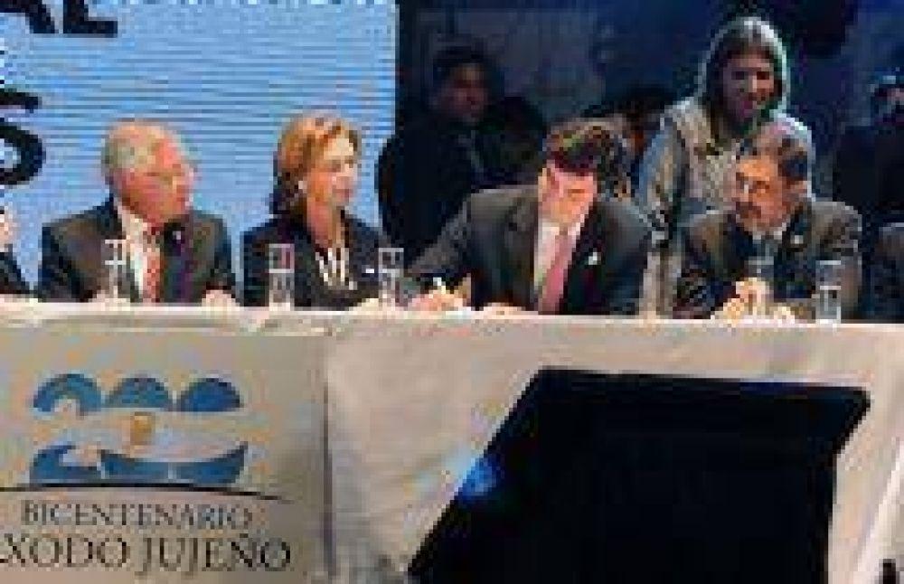 Se firmó el Acta de Declaración y Compromiso por la Gesta Bicentenaria del Norte Argentino