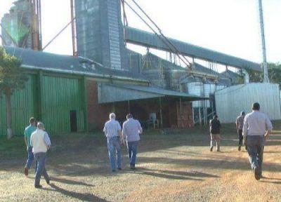 Buscan aumentar la producción de granos en la zona de Irigoyen