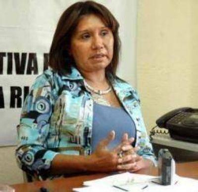 Ada Maza se mostró en contra de la re-reelección de Beder Herrera