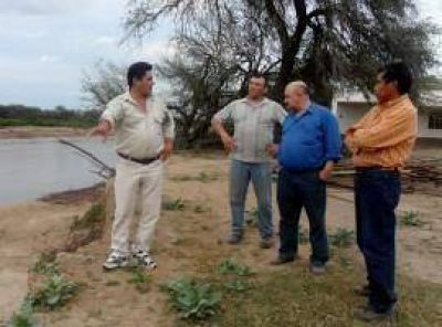 Urgen obras de reencauces en el Pilcomayo para proteger Misión La Paz