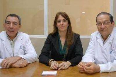 Autoridades del Cepsi valoran apoyo del Hospital Garrahan