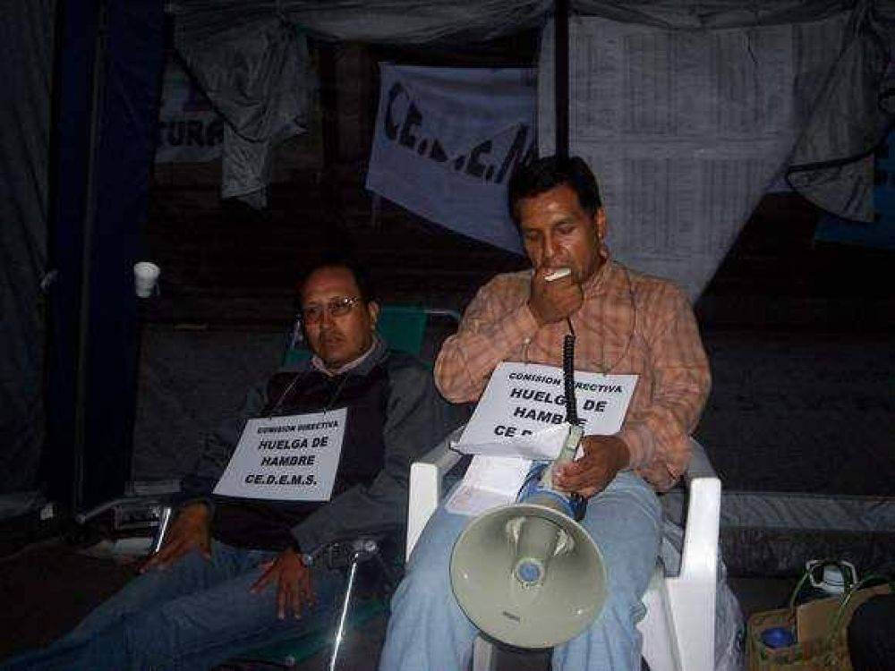 Profesores de Jujuy continúan con huelga de hambre