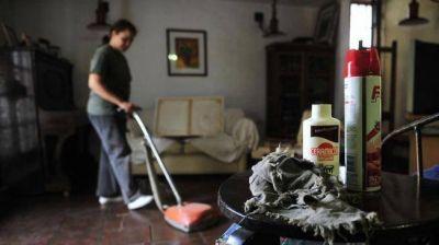 Servicio doméstico: a fin de año, nueva ley