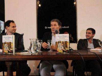 """Víctor Hugo Morales visitó La Plata: """"Hay que formarse para defender lo que se ha recuperado"""""""