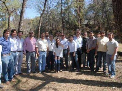 Minera Aguilar en los festejos del Bicentenario