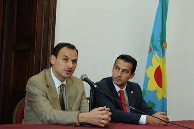 La Municipalidad de La Plata firmó convenio con el Ministerio del Interior.