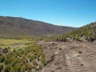 Huella Minera para acceso a minera de azufre y fluorita