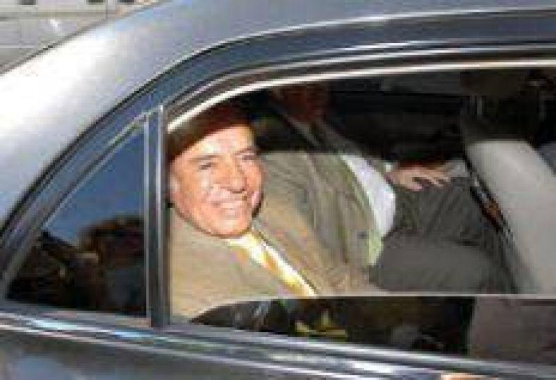 Menem se negó a declarar por la causa AMIA