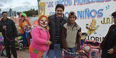 Imponente cierre de festejos para los niños por parte de la municipalidad