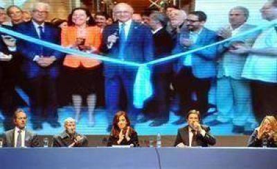 Cristina amplía su récord en el uso de la cadena nacional