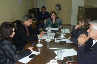 La Comisión de Derechos Humanos recibió a Castrello