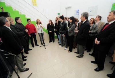 Nuevas Empresas para Jóvenes Sanluiseños: el Gobierno inauguró el primer emprendimiento