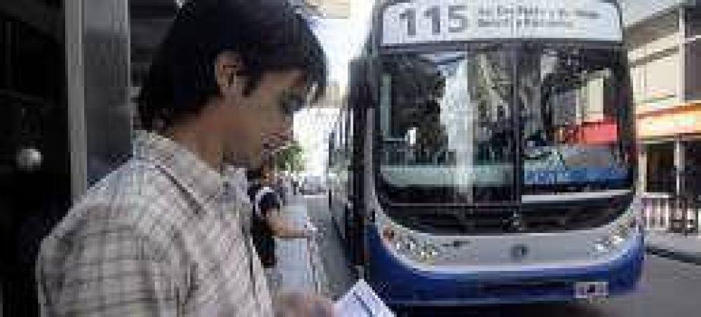 Se podrá consultar las frecuencias de los ómnibus a través de internet
