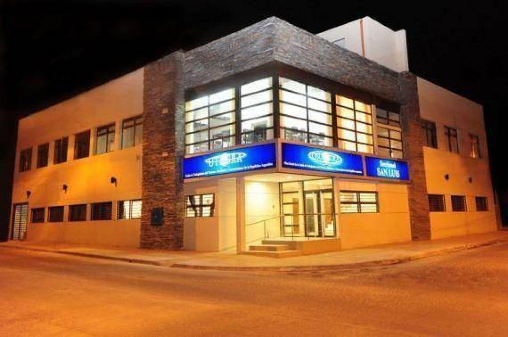 El jueves 6 se inaugura la nueva sede de UTHGRA San Luis