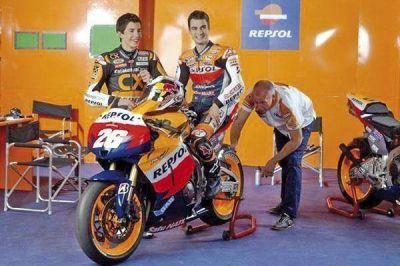 Yamaha presentó la moto que usarán Rossi y Lorenzo en Las Termas