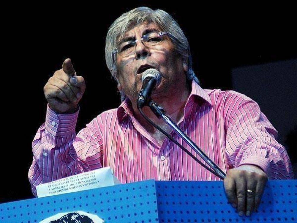"""Hugo Moyano no irá a negociar el salario mínimo porque será una """"imposición"""""""