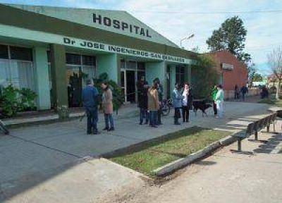 El hospital de San Bernardo seguirá de paro hasta el jueves