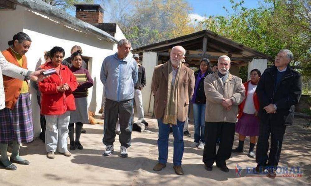 Pobladores de paraje Soledad ya cuentan con agua potable