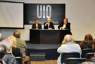 Cariglino llamó a oponerse a la re-reelección