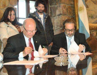 Firmaron convenio para la ampliación de la Legislatura de Jujuy
