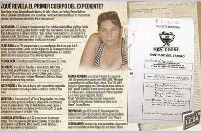 Los detalles del expediente confirman la alevosía del crimen de Leda