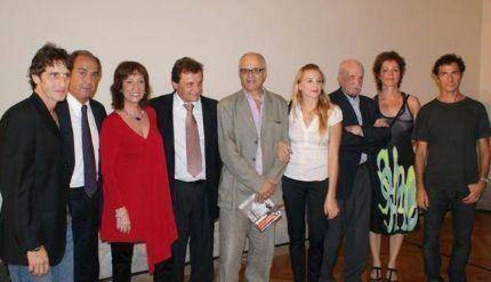 Pulti, Scioli y el Inca organizarán el Festival de Cine