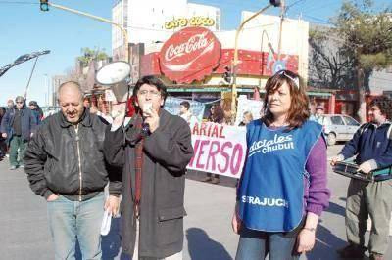 Estatales marcharon unidos por reivindicaciones salariales