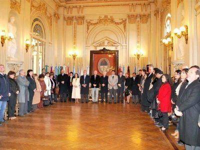 Conmemoraron el D�a del Abogado en Casa de Gobierno