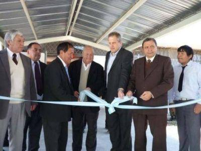 Inauguraron obras en la Escuela Técnica Nº 1 de Palpala
