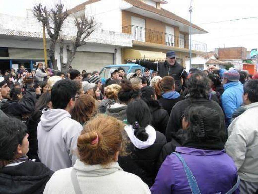 Fileteros marcharon para pedir subsidios