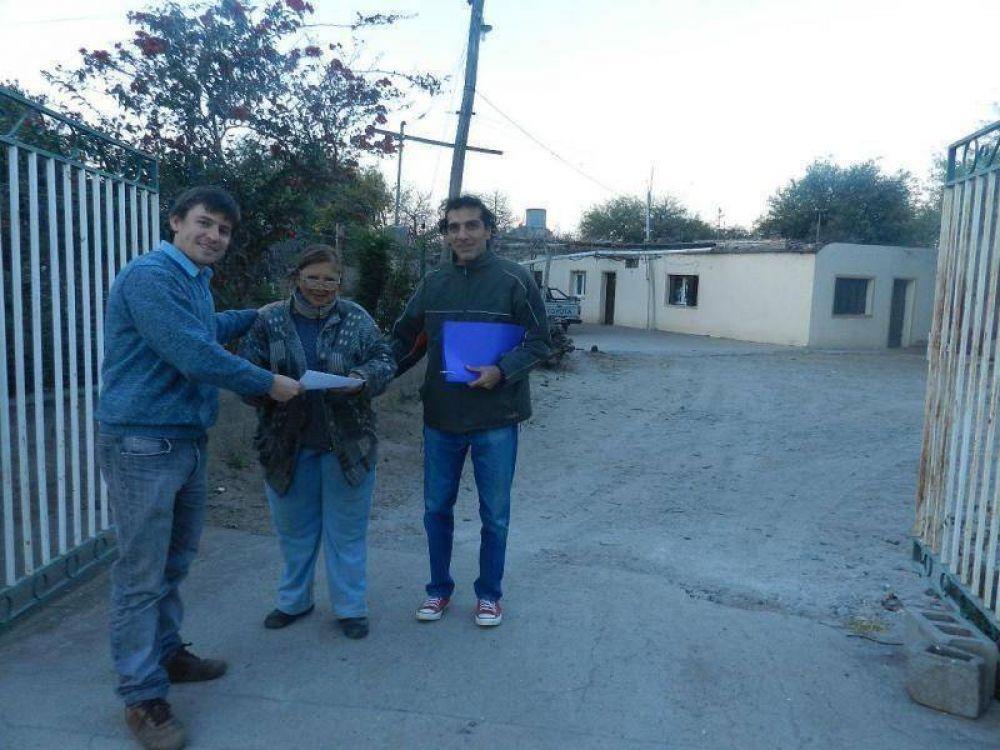 Inició el Programa de Numeración para los barrios de la ciudad