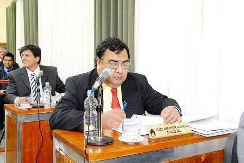 Hidalgo criticó el aumento de patente automotor.