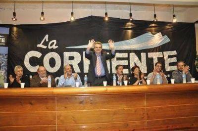 Se presentó la Corriente nacional de la Militancia con la presencia del diputado Agustín Rossi