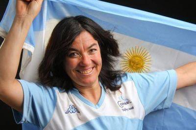 Perla Muñoz no tuvo un buen debut en los Juegos Paralímpicos de Londres