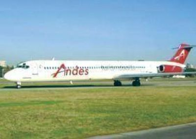 Parodi debe informar sobre el contrato con Andes Líneas Aéreas