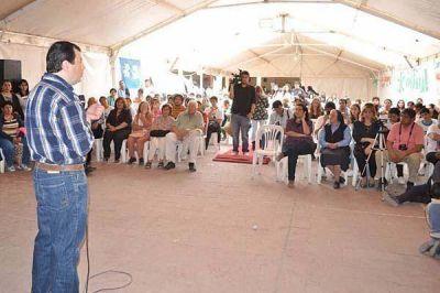 Zamora resaltó la responsabilidad y el compromiso de juventudes militantes