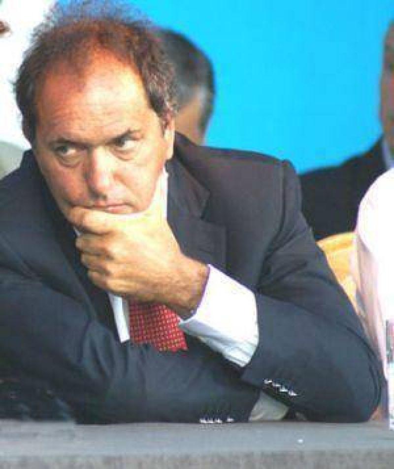 ABSA: Scioli justificó el tarifazo y no habría marcha atrás en Varela