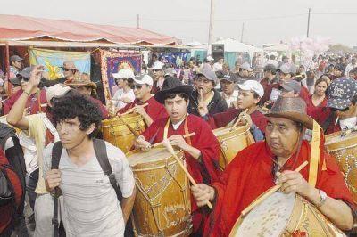 Más de cien mil personas realizaron una enorme demostración de fe en San Gil