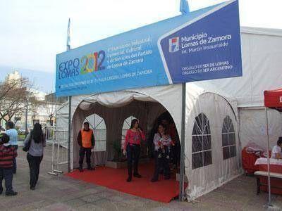 Con más stands, comenzó la sexta edición de la Expo-Lomas