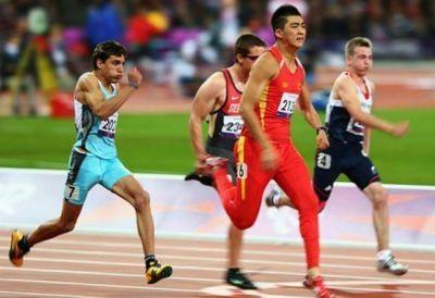 El atleta zarate�o Hernan Barreto obtuvo diploma ol�mpico en Londres