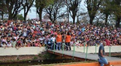 Miles de niños festejaron su día en el Parque 2 de Febrero